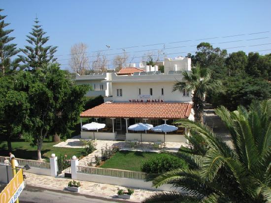 Villa Malia: Front view