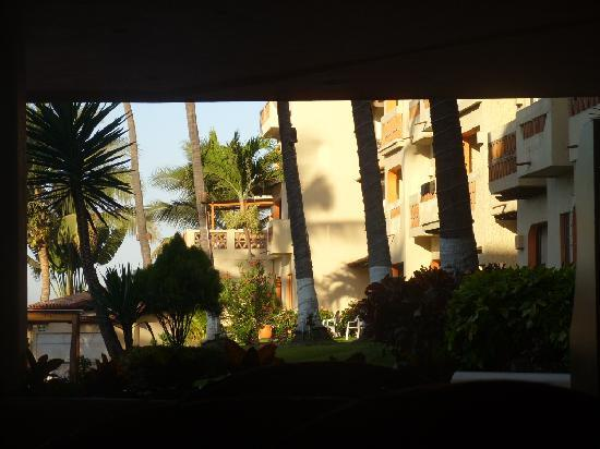 Villas Vallarta by Canto del Sol: An early morning view of the sister hotel