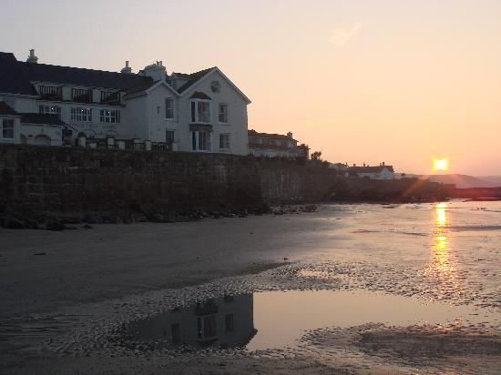 Sun Rise on Mounts Bay by The Godolphin Arms
