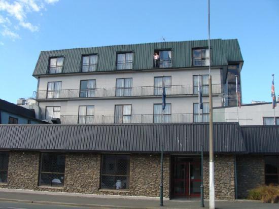 The Victoria Hotel Dunedin: ホテルを見たとき