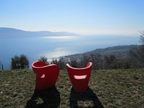 Lefay Resort & Spa Lago di Garda : giardino fenice rossa