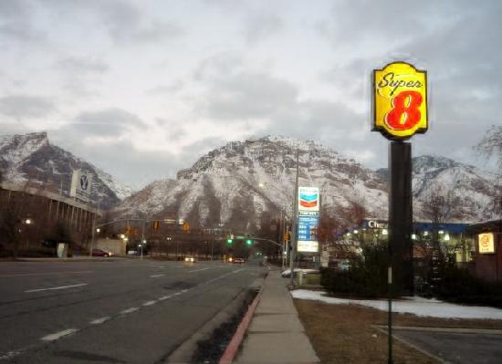 Super 8 Provo Byu Orem: A view from Hotel