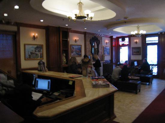 Da Vinci Hotel: The lobby - L'accueil
