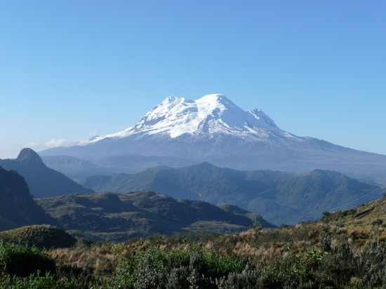 "Ecuador: Antisana - view from the area of ""La Virgen"""