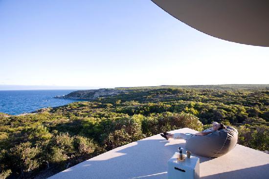 Southern Ocean Lodge : Spa Views