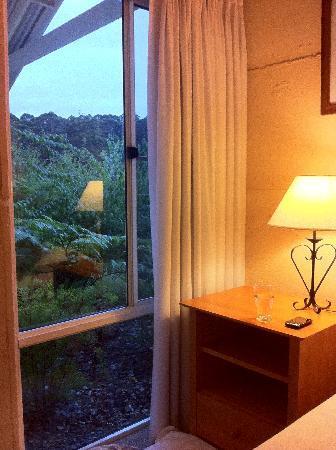 Big Brook Cottages: Bedroom view