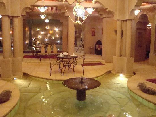 La Kasbah des sables : un partie du restaurant