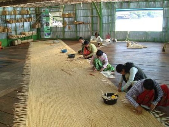 Saray Tonle Community Based Ecotourism: In the workshop of Prek Toal (Tonle Sap)