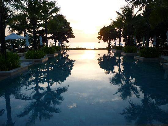 Layana Resort and Spa: coucher de soleil