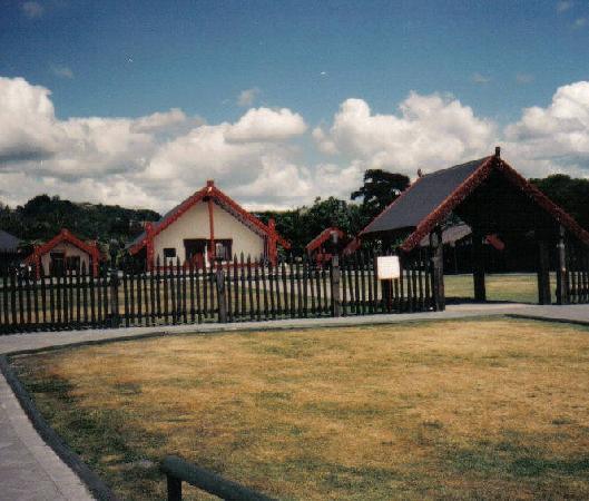 Rotorua District, นิวซีแลนด์: Maori Village Rotorua  New Zealand