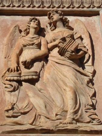 Castiglione del Lago, İtalya: angeli musicisti