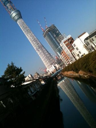 Palace Japan: It is close to SKY-TREE!!