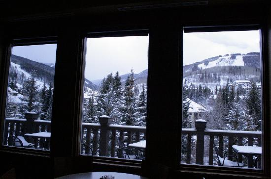 The Charter at Beaver Creek: view from the bar!!/restaurant