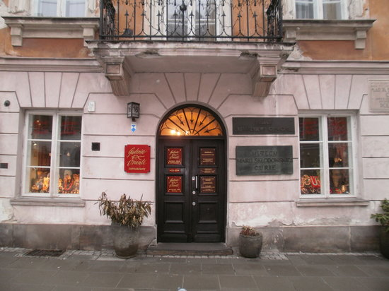 Image result for marie curie museum warsaw