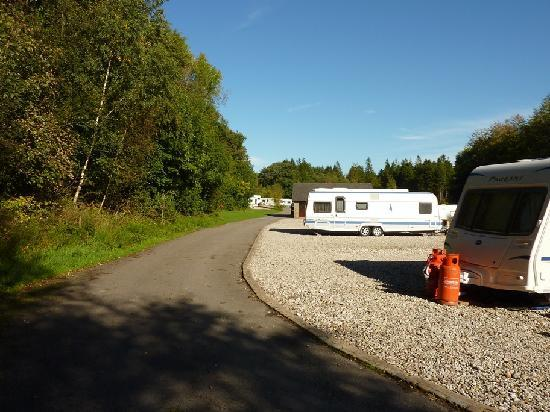 Карнфорт, UK: Seasonal and Short Stay Touring Pitches