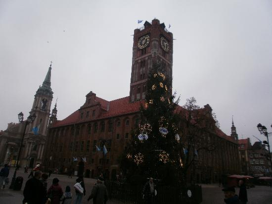 Regional Museum,Town Hall, Torun, Poland - January 2011