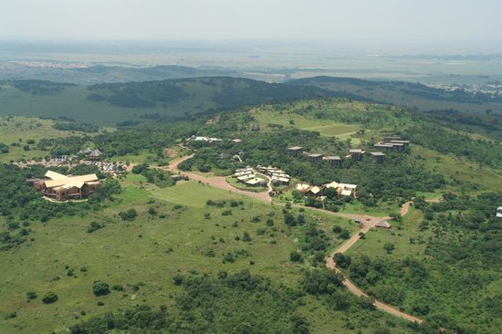 Thaba Eco Hotel: Aerial View