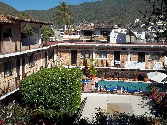 Hotel Posada de Roger: la piscina
