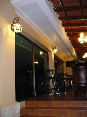 Gran Hotel Azuero: Restaurante, área exterior