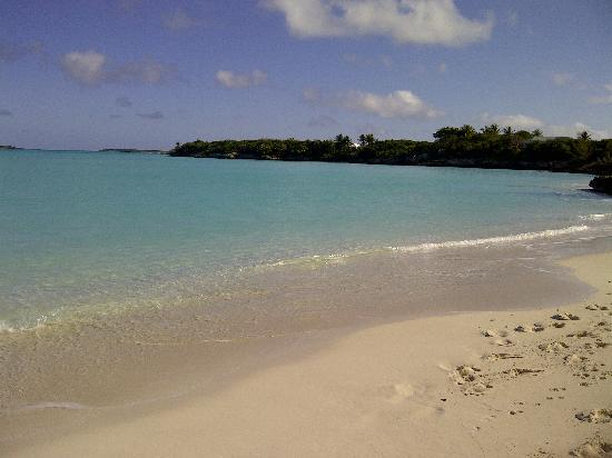 Gran Exuma: One of the many beaches