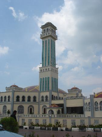 Penang Island, Malesia: ~ floating mosque