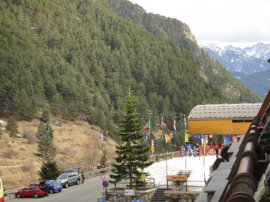 Patagonia Atiram Hotel: Vue de notre balcon