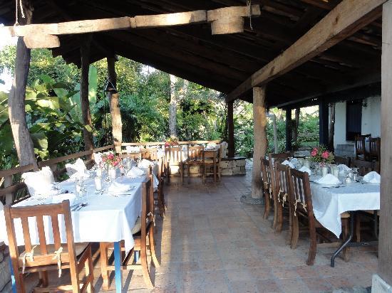 Hacienda San Lucas: a table prepared