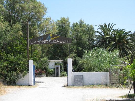 Camping Elizabeth entrance
