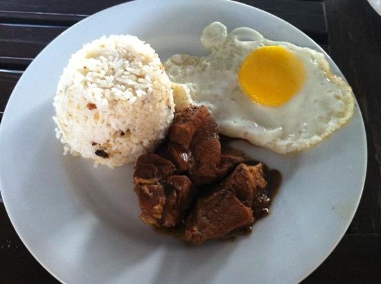 Hotel Bahia Subic : Filipino breakfast