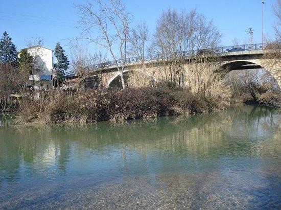 Bastia Umbra, Italia: Il ponte
