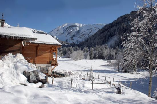 Super Ski Chalets : View up the valley