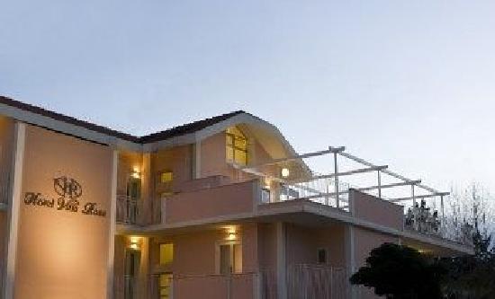 Esterno dell'Hotel Villa Rosa Riccione