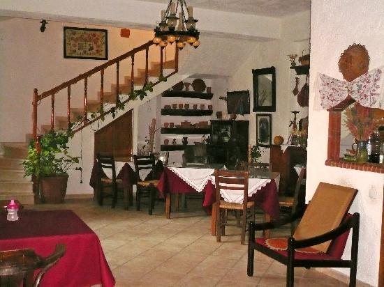 Hotel Keramos: la salle à manger