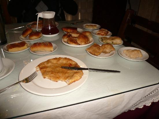 Hotel Keramos : le petit déjeûner