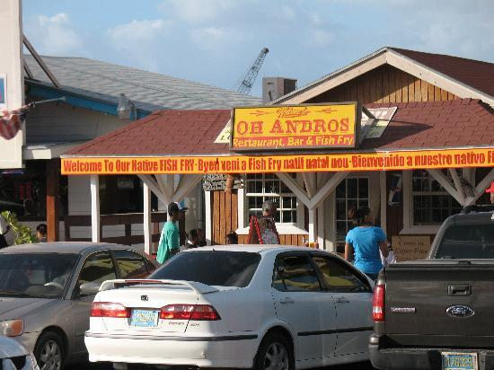 Oh andros oh so good picture of andros the fish fry for Fish fry bahamas