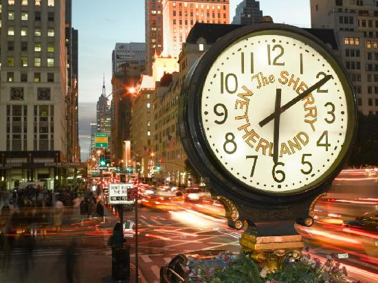 The Sherry-Netherland Hotel: Look for our signature clock on Fifth Avenue and 59th Street