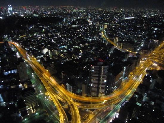 パークハイアット 東京, 夜景