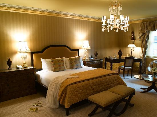 The Sherry-Netherland Hotel : A City View Room with a king bed