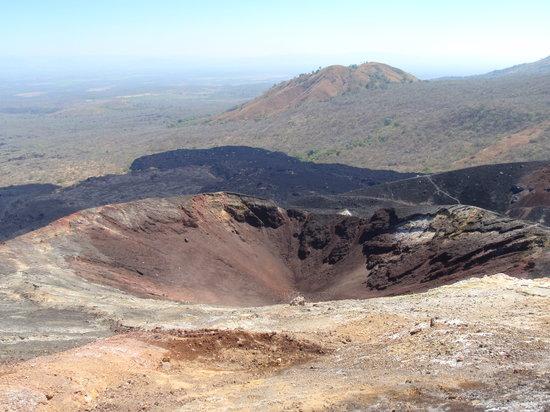 Cerro Negro Volcano: While climbing