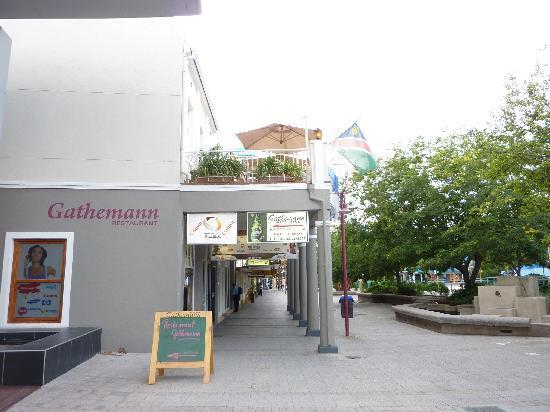 Restaurant Gathemann im 1. Stock