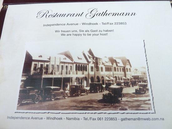 Restaurant Gathemann alte Ansicht