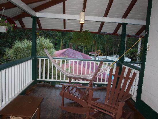 Hacienda Gripinas : Balcony view