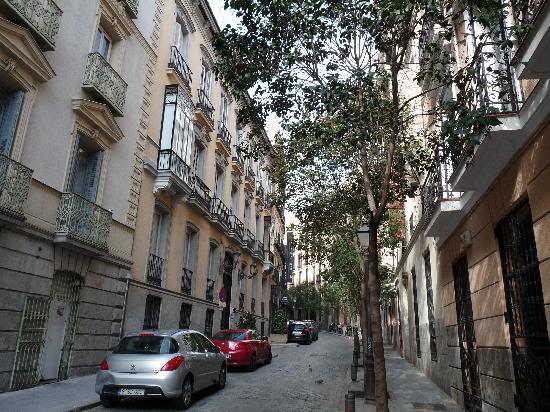 Hostal Gran Duque: la via dove si trova l'hostal