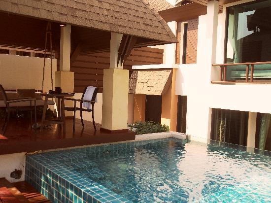 Springfield @ Sea Resort & Spa: Pool villa avec piscine privée