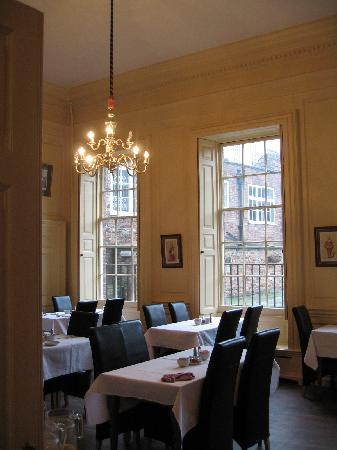 The Judges Lodging: The breakfast room