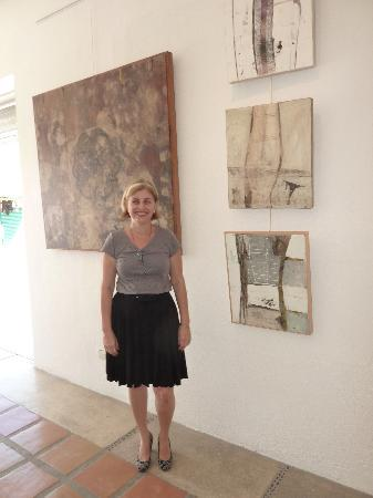 Marie Celyne Poupart, owner of the Golden Cactus Gallery