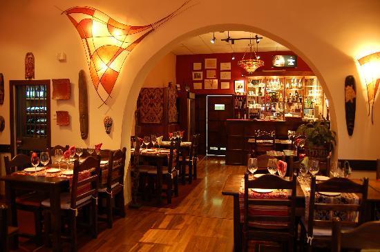 Restaurante Tandory: Cálido ambiente
