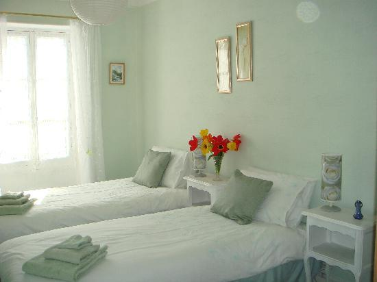 Sainte-Meme, France : twin room