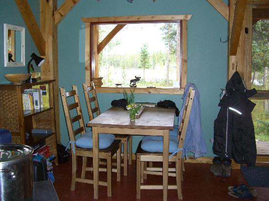 Wheaton River Wilderness Retreat: Eßplatz