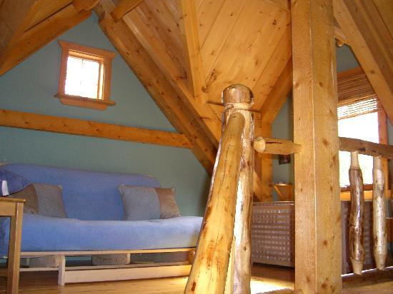Wheaton River Wilderness Retreat: Schlafraum 2 oben